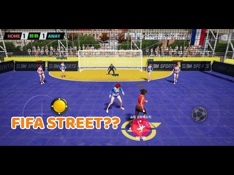 EXTREME FOOTBALL (Android/Ios) Gameplay | Fifa Street?
