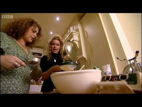 Julia Sawalha surprised by sisters  A Taste of My Life  BBC