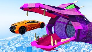 INSANE MASSIVE DRAGON RACE! (GTA 5 Races)