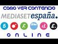 Mediaset online con mi tele - Cuatro y Telecinco  - Cuarto Milenio 2019 📺
