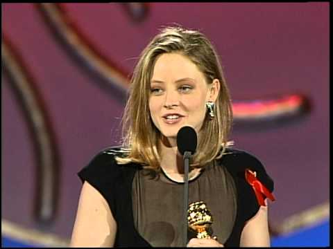 Golden Globes 1992 Jodie Foster