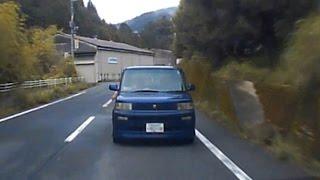 道を知らぬが故に 下手糞 DQN bB の 先回り をしてしまう ドライブレコーダー thumbnail