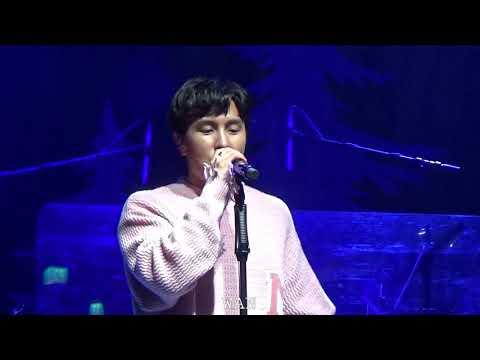 20171224 김동완 KimDongWan 소극장 콘서트 지구가 예쁜 이유