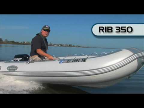 West Marine Hypalon RIB 350 Inflatable Boat