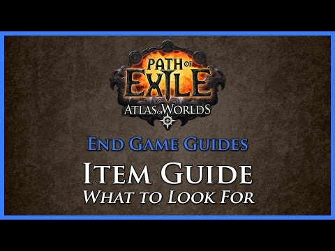 Path of Exile: Item Guide