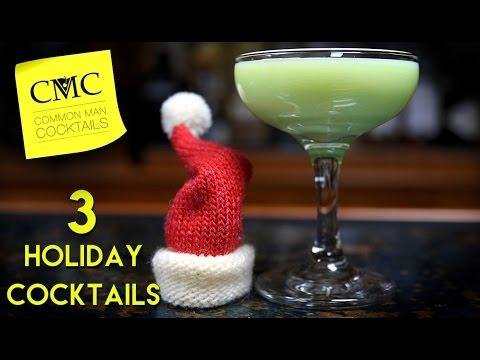 3 Christmas Drinks You Need To Make 🎅 Holiday Cocktail Series