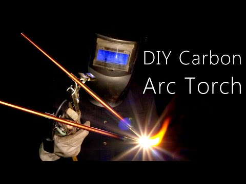 Recreating An Antique Carbon Torch (Oxy/Acetylene Alternative)