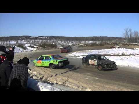 Rockland,Ontario snowrace 2012 round 2