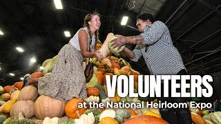 Volunteer at the National Heirloom Expo!