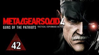 Metal Gear Solid 4 Walkthrough - Part 42 Big Boss Let's Play MGS4 Gameplay