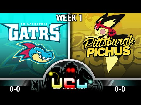 Pokemon ORAS Live Wifi Battle: Philadelphia Feraligatrs vs Pittsburgh Pichus (@UCLOfficial - Week 1)