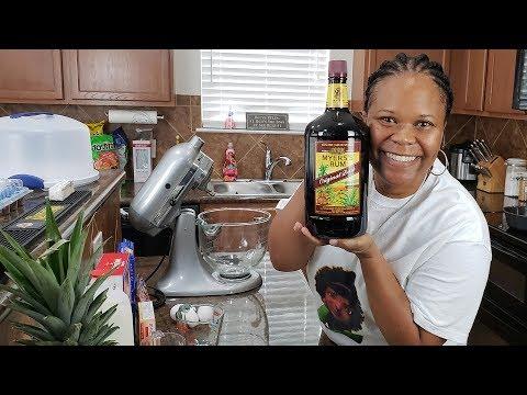 How to make a Rum Cake   Jamaican Rum   Moist Dessert Recipe