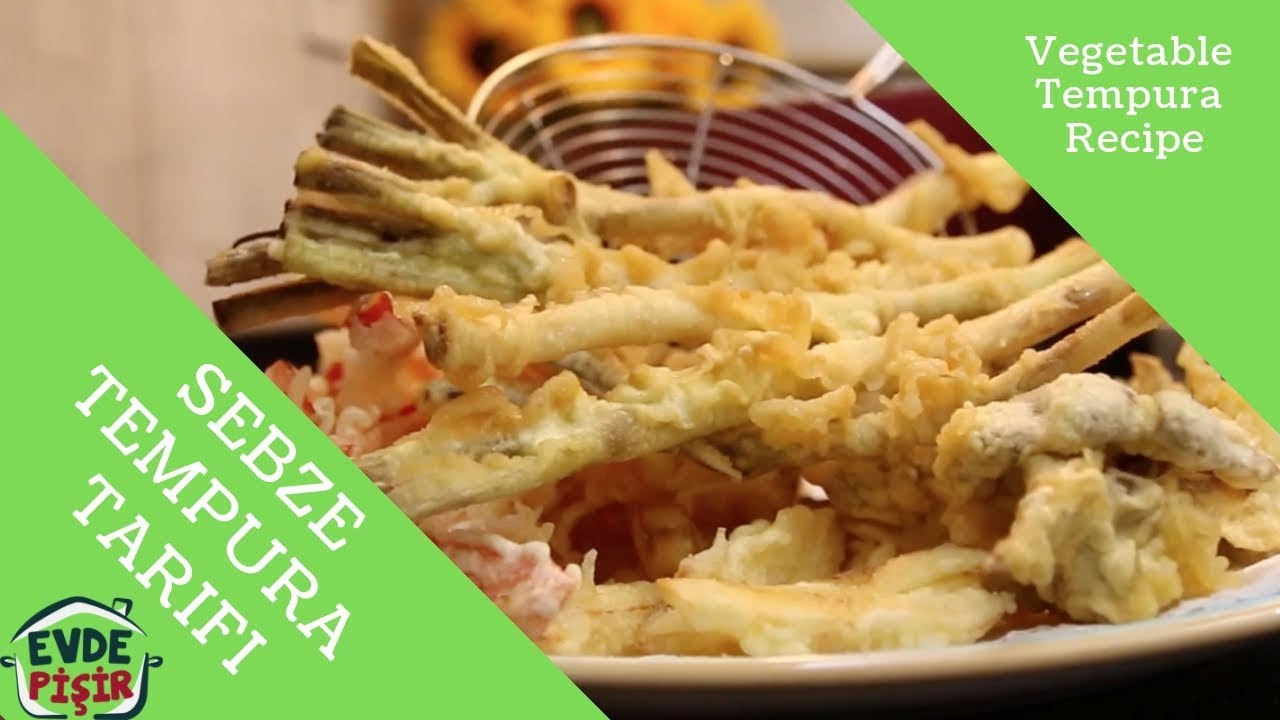 Hamsi tempura tarifi
