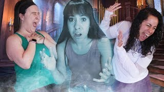 Ghost in the Graveyard (In a real HAUNTED MANSION!)