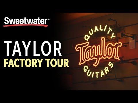 Taylor Guitars Factory Tour