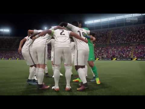 FIFA 17 Barcelona vs PSG Full Gameplay 2017 World Class PS4, XBox One, PC