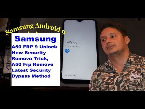 Samsung A50 Frp Bypass Android 9, Samsung A50 New Security Update Frp Unlock Latest Trick