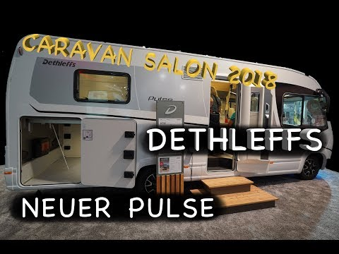 Caravan Salon 2018 - DETHLEFFS I 7051 DBL *Neuheit Pulse Baureihe
