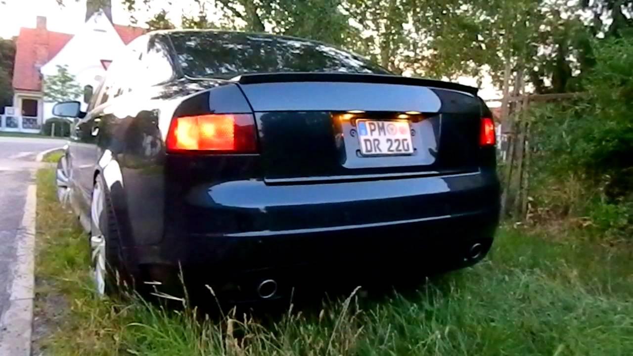 Audi A4 1.8T >> Audi A4 1,8t B6 Vollumbau.MOV - YouTube