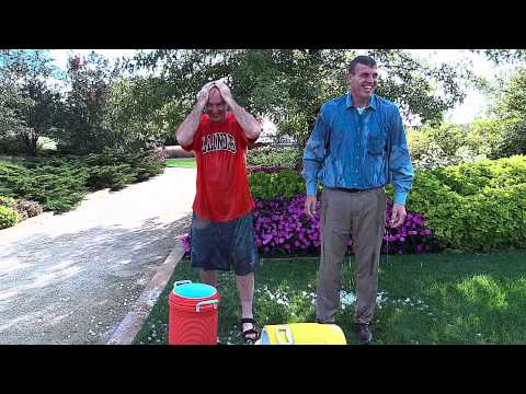 Jim Kennedy and Mark Snyder take the ALS Challenge