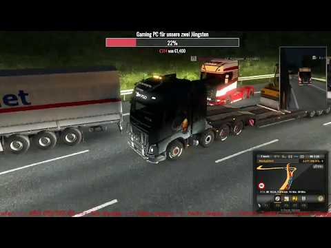 ETS2 MP ★ Original Map ★ Hamburg nach Graz ★ Konvoi bei Dirk42 & Friends