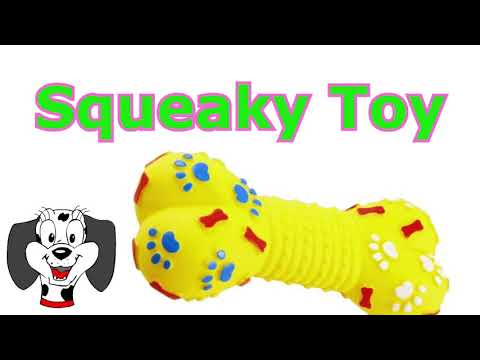 Dog Squeaky Toy   Sounds that attract dogs HQ Sound
