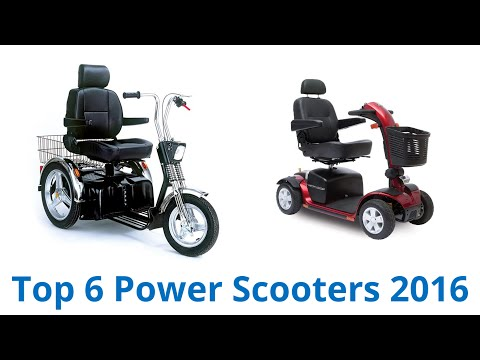 6 Best Power Scooters 2016