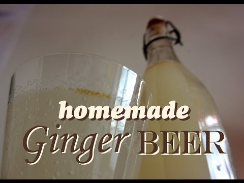 How To Make Ginger Beer An Easy Recipe For Ginger Ale By Wasteless Wednesday