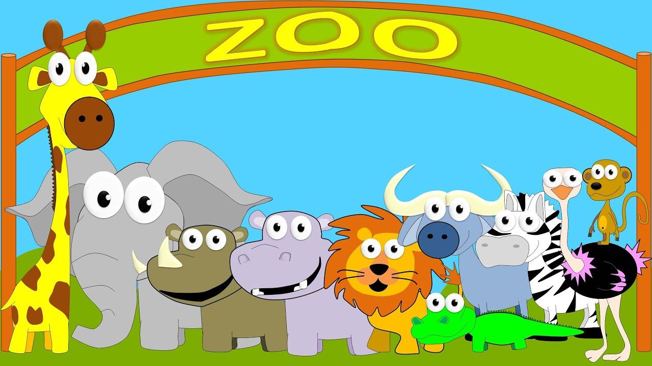 Animales del Zoo para nios  Sonidos de Animales para nios