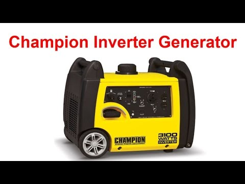 Champion Inverter Generator Review 2000 3100 And 4000