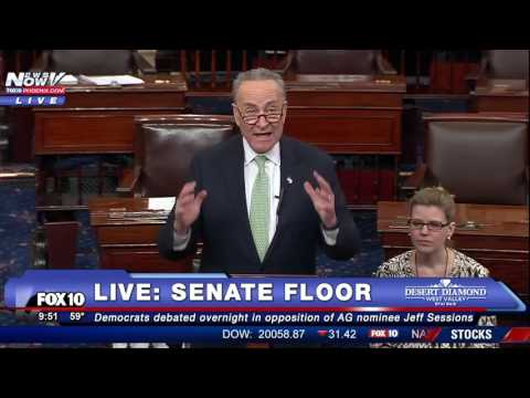 "FNN: ""This is NOT What America Is About"": Chuck Schumer on Rule 19 Silencing of Elizabeth Warren"