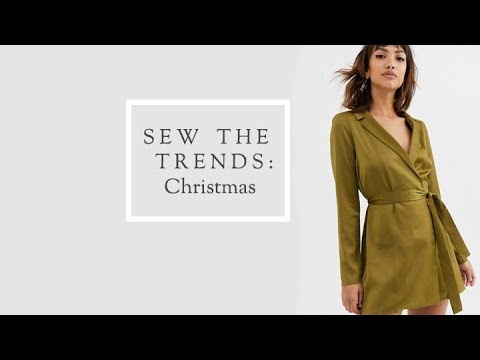 [VIDEO] - Sew The Trends Christmas 2019    Fashion Sewing    The Fold Line 5