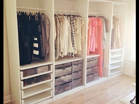First Look Walk In Closet Tour Youtube