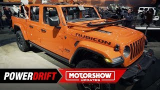 2020 Jeep Gladiator : The Wrangler pickup : 2018 LA Auto Show : PowerDrift