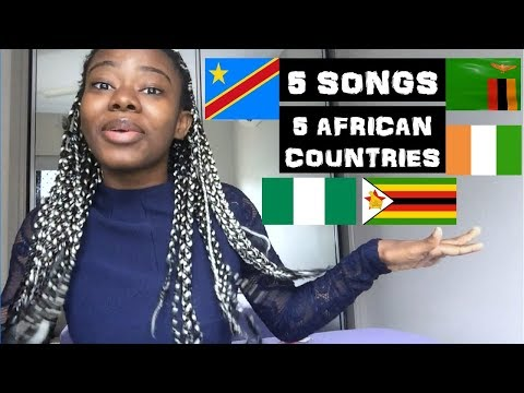 5 songs from 5 AFRICAN countries that will get you on the DANCE FLOOR!