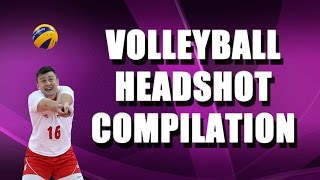 Volleyball Headshot Compilation