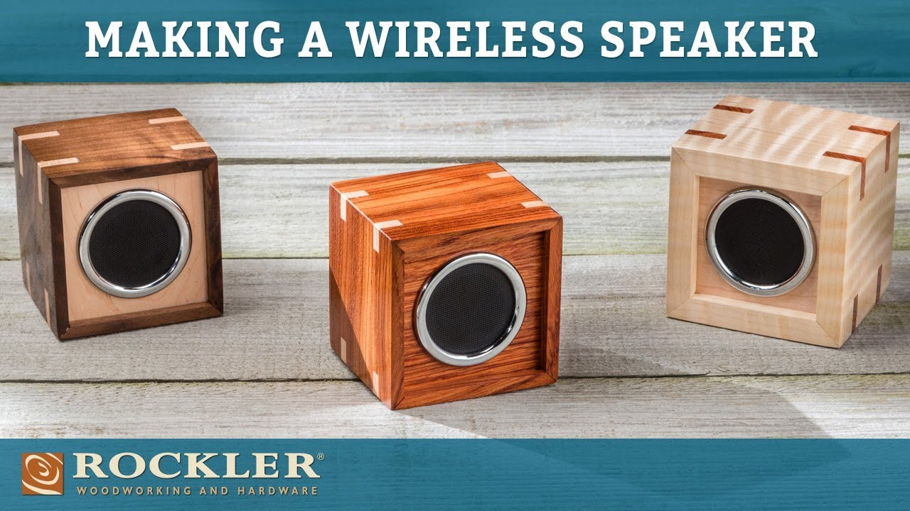 How To Make A Wireless Speaker Box Rockler Project