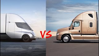 Diesel Trucks Can't Compete With Sub $200,000 Tesla Semi