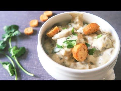 No.30 奶油蘑菇+脆面包干 这是奶油蘑菇...汤?还是糊?!