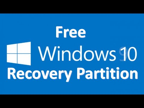 How to create a system image recovery disk in windows 10