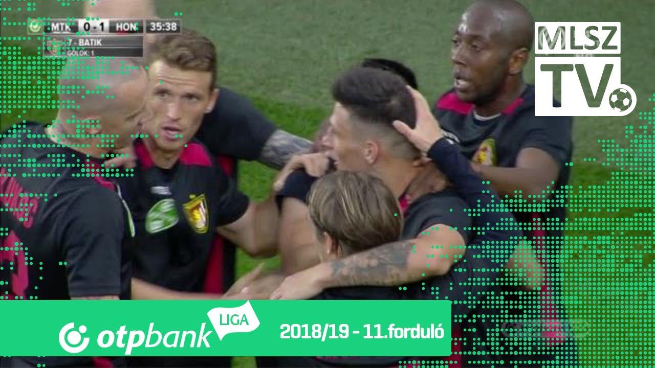 MTK Budapest  - Budapest Honvéd | 1-1 (0-1) | OTP Bank Liga | 11. forduló | 2018/2019