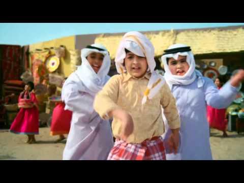 funny and cute arabic kids music song - Kuwaiti folklore