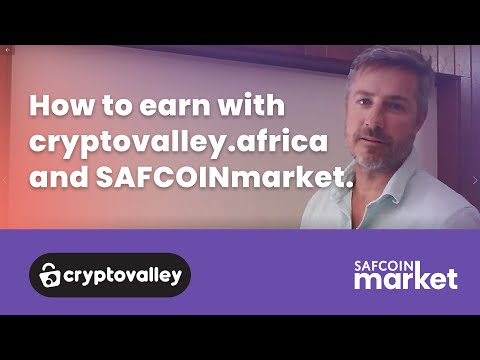 CryptoValley for affiliates and marketers