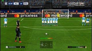 Manchester City vs Real Madrid | C.Ronaldo Free Kick Goal & Full Match | PES 2017 Gameplay PC