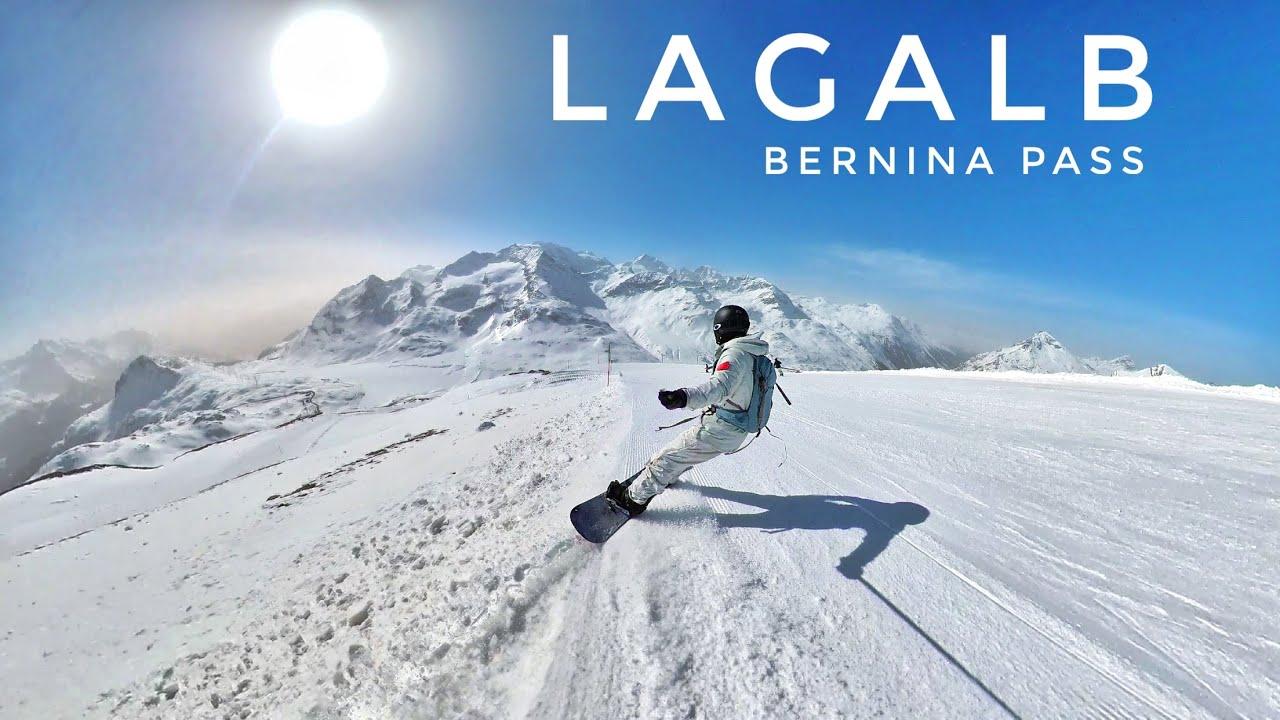 瑞士伯尔尼纳峰前Lagalb单板滑雪,少有人知道的滑雪秘境