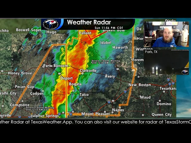 Live Severe Weather Update   10/10/21 11:45 PM