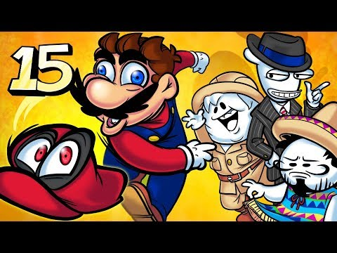 Oney Plays Super Mario Odyssey - EP 15 - Super Sticky Vision