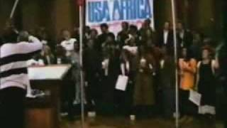 USA for AFRICA : WE ARE THE WORLD (07 MARZO 1985 Hollywood)