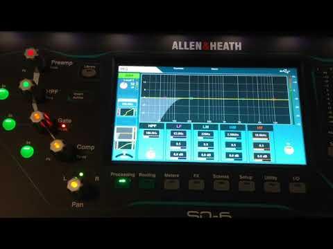 Allen & Heath SQ6 Vid2 processing