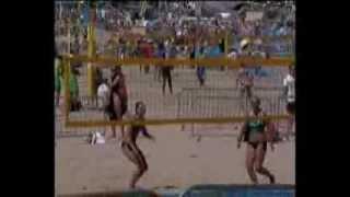 Beautiful Women's Beach Volleyball UK Summer Fun 2013